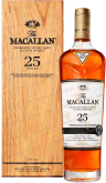 Крепкие напитки The Macallan 25 Year Sherry Oak wooden box