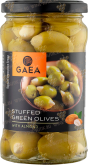 Деликатесы Gaea Green Olives Stuffed with Almond 295 gr
