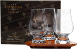 Бокалы и аксессуары Glencairn Tasting Set 3 glasses with serving tray gift box