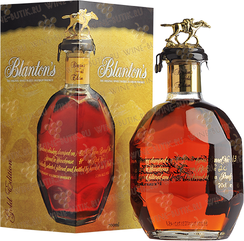 Крепкие  Blanton's  Blanton's Gold Edition in gift box