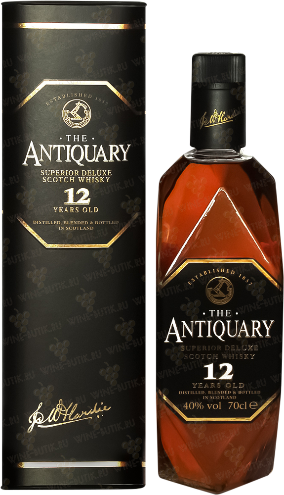 Крепкие  Tomatin Distillery  Antiquary 12 years