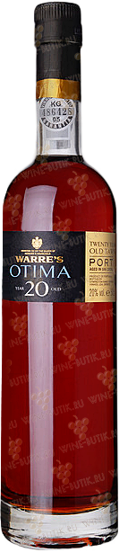 Вино  Symington Warre's  Warre's Otima 20 years Tawny Porto 0,5L