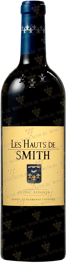 Вино  Chateau Smith Haut Lafitte  Les Hauts de Smith Rouge  2010