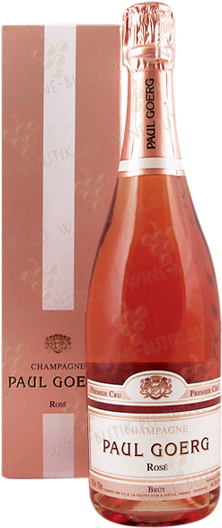 Вино  Paul Goerg  Paul Goerg Brut Rose gift box