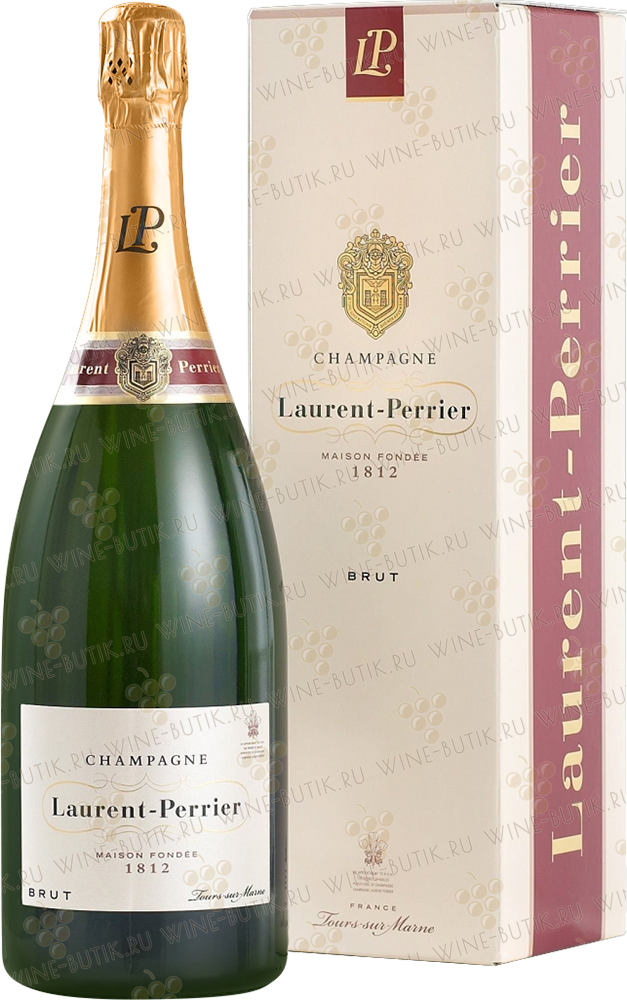 Вино  Laurent-Perrier  Laurent-Perrier Brut 1.5L gift box