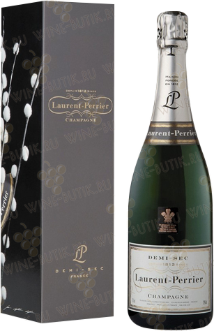 Вино  Laurent-Perrier  Laurent-Perrier Demi-Sec gift box