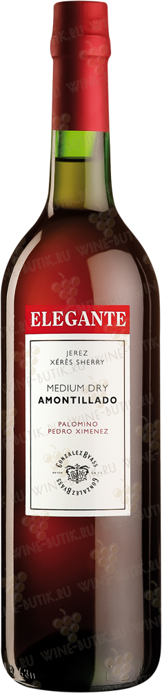 Вино  Gonzalez Byass  Elegante Medium Amontillado