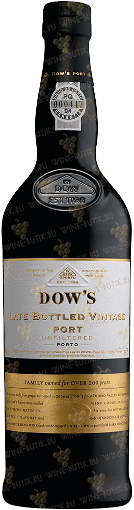 Вино  Dow's  Dow's  Late Bottled Vintage ( LBV ) Port 200