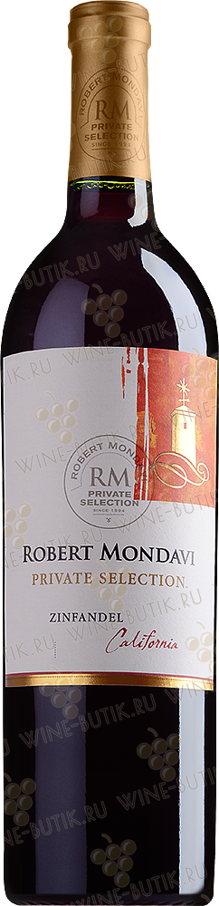 Вино  Robert Mondavi Winery  Private Selection Zinfandel 2010