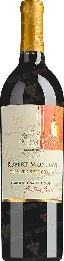 Вино  Robert Mondavi Winery  Private Selection Cabernet Sauvignon 2012