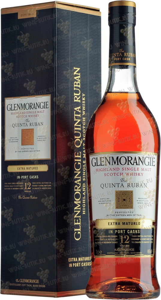 Крепкие  Glenmorangie Distillery  Glenmorangie Quinta Ruban Port single malt