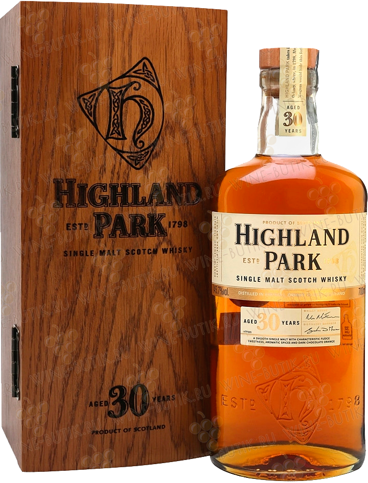 Крепкие  Highland Park  Highland Park 30 years