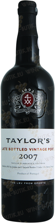 Вино  Taylor's  Taylor's Late Bottled Vintage 2007