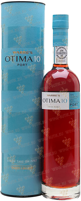 Вино  Symington Warre's  Warre's Otima 10 years Old Tawny Porto gift box 0,5L