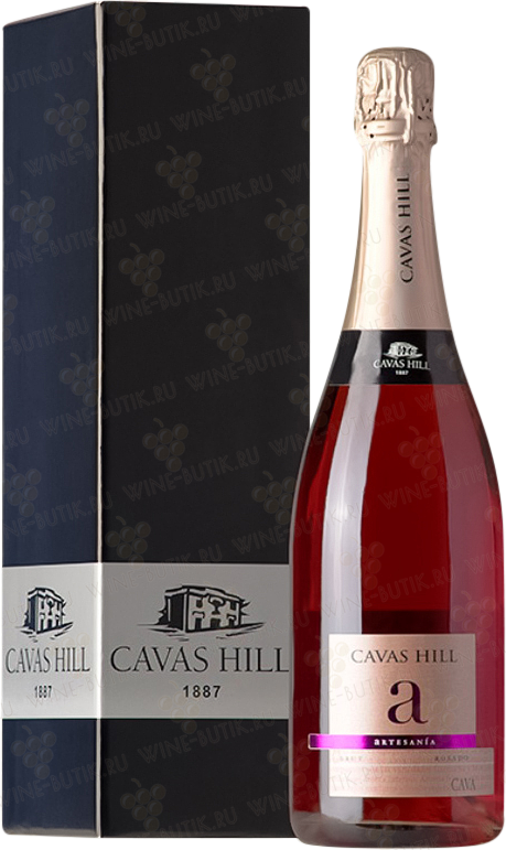 Вино  Cavas Hill  Cava Rosado Brut in gift box