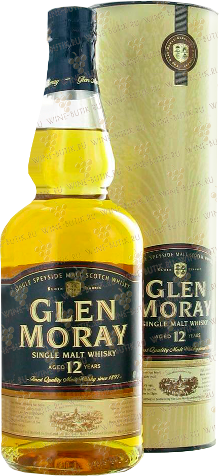 Крепкие  Glen Moray  Glen Moray 12 years gift box