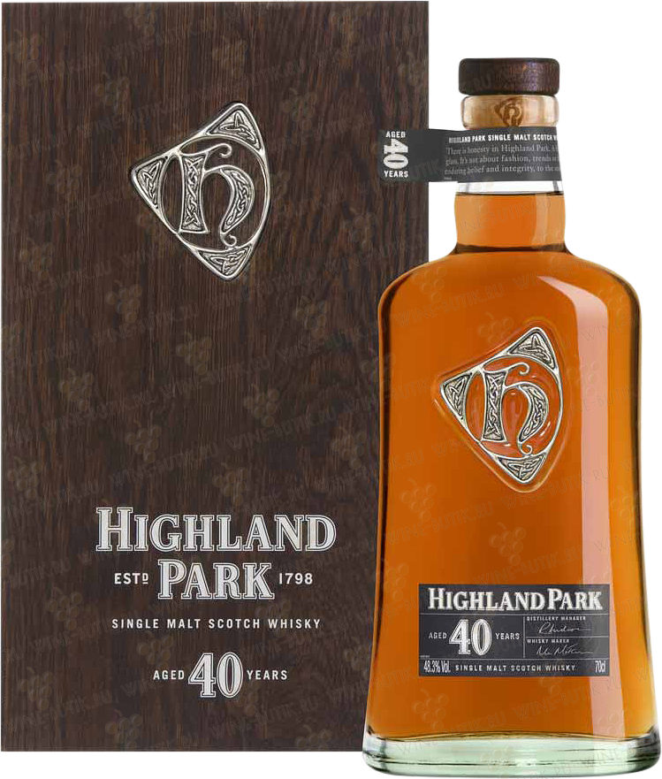 Крепкие  Highland Park  Highland Park 40 years