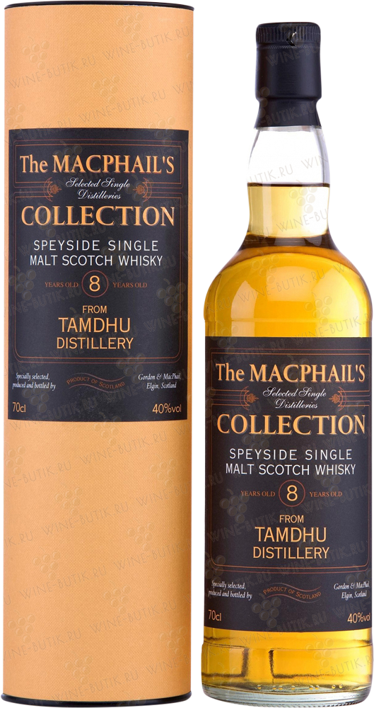 Крепкие  Gordon&Macphail  Tamdhu 8 years in tube