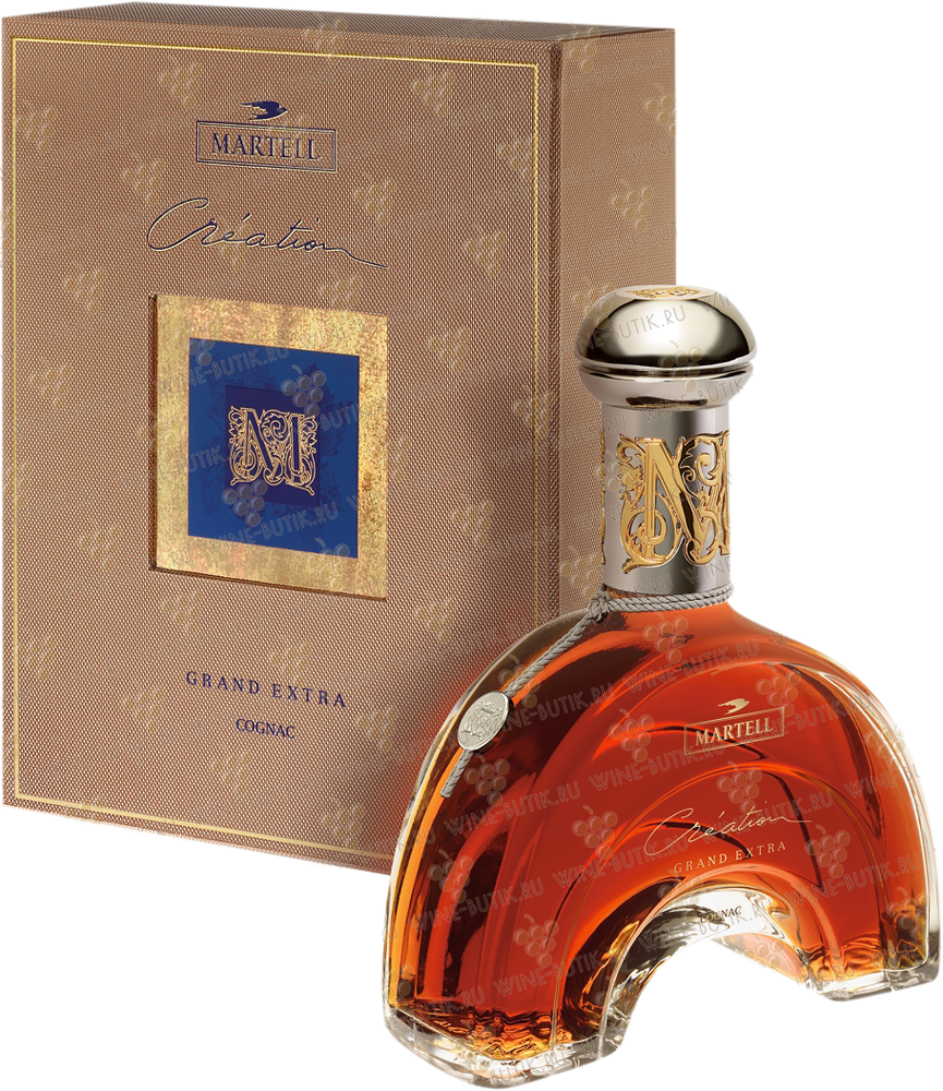 Крепкие  Martell&Co  Martell Grand Extra Creation