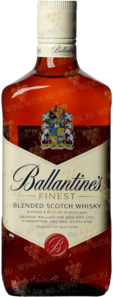 Крепкие  George Ballantine and Son LTD  Ballantines Finest