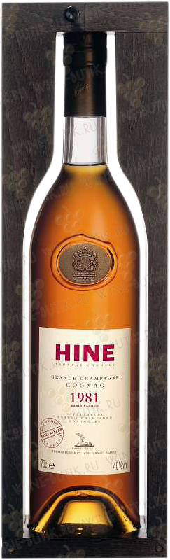 Крепкие  Hine  Hine Vintage Early Landed 1981 in gift box
