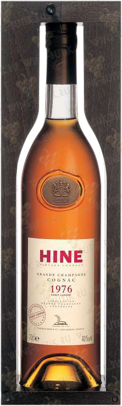Крепкие  Hine  Hine Vintage Early Landed 1976 in gift box
