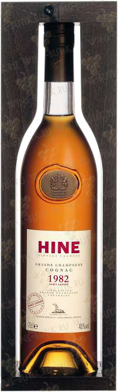 Крепкие  Hine  Hine Vintage Early Landed 1982 in gift box