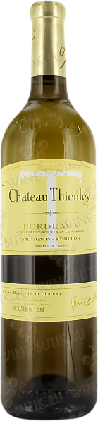 Вино  Vignobles Francis Courselle  Chateau Thieuley Blanc 2004