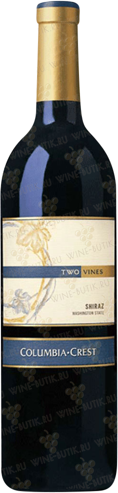 Вино  Columbia Crest Winery  Two Vines Shiraz 2009
