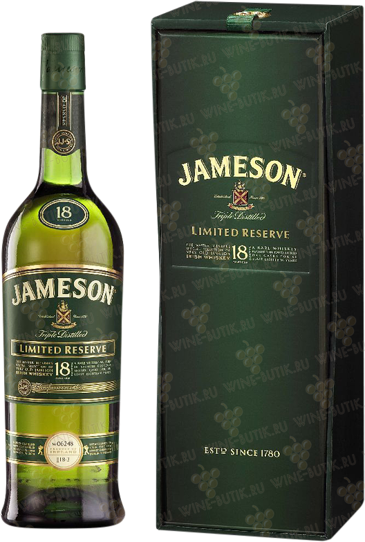Крепкие  Jameson  Jameson 18 years