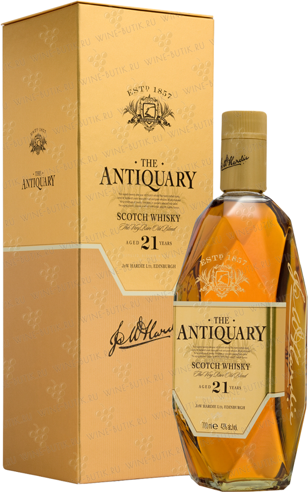 Крепкие  Tomatin Distillery  The Antiquary 21 years