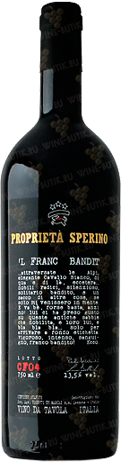 Вино  Proprieta Sperino  L Franc Bandit Proprieta Sperino