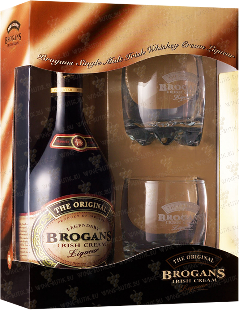 Другие напитки  Brogan & Co.  Brogans Irish Cream in gift box