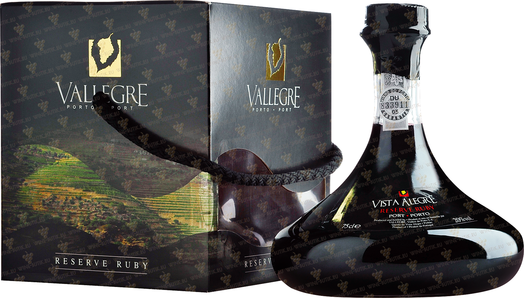 Вино  Vista Alegre  Ruby Reserve Vista Alegre in decanter