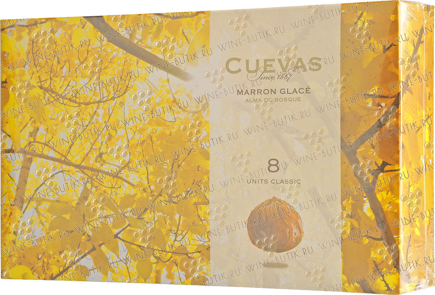 Деликатесы  Cuevas  The glazed chestnuts the Classic