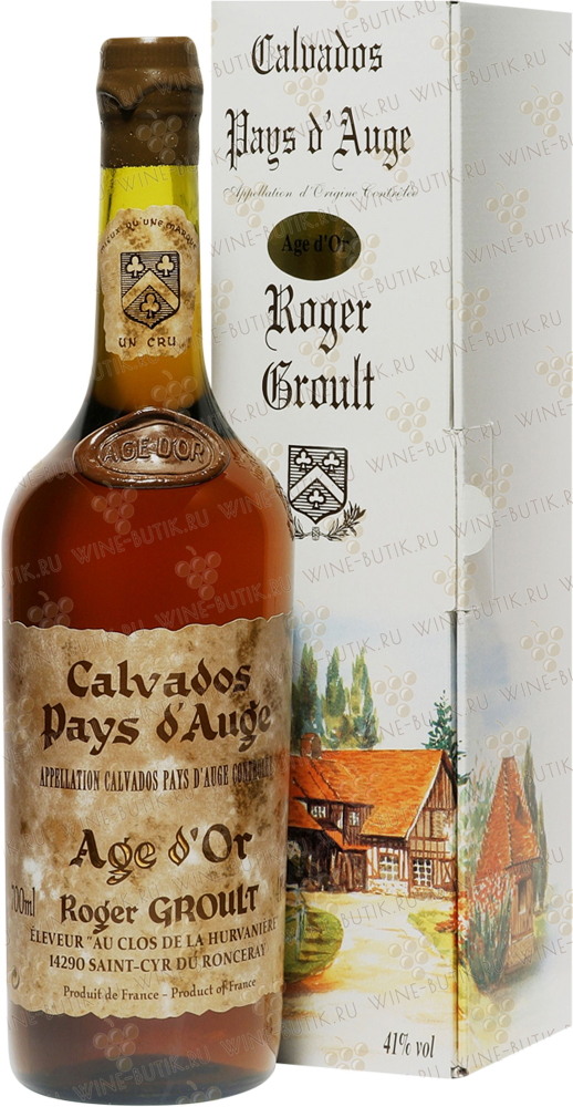 Крепкие  Roger Groult  Calvados Age d Or
