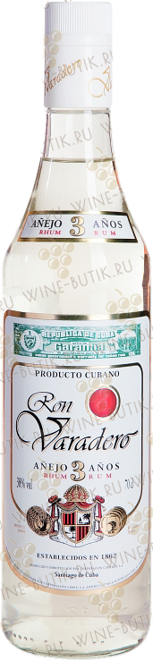 Крепкие  Cuba Ron & Co  Ron Varadero Blanco Anijo 3 years