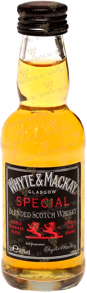 Крепкие  Whyte & Mackay  Whyte & Mackay Special 0.05L