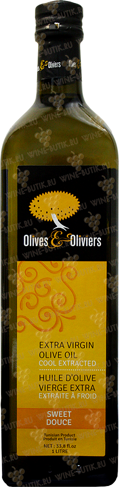 Деликатесы  Olives & Oliviers  Olivers&Olivers Extra Virgin Olive Oil 1L In Glass
