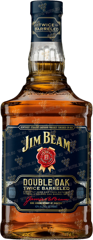 Крепкие  Jim Beam  Jim Beam Double Oak