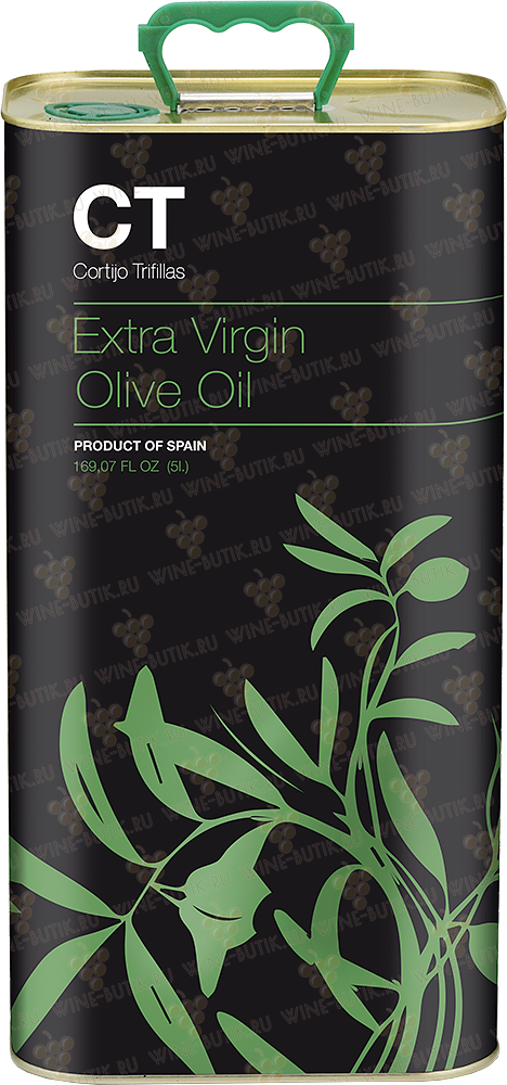 Деликатесы  CT Cortijo Trifillas  Extra Virgin Olive Oil ''СT'' Arbequina 5L