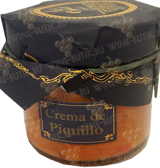 Деликатесы  Industrias Coquet  Crema (Bruschetta) from roasted red peppers Piccolo Coquet 115gr