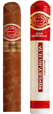 Табак  Romeo y Julieta  Romeo Y Julieta Wide Churchills