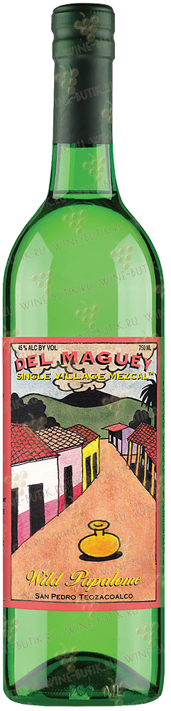 Крепкие  Del Maguey  Del Maguey Wild Papalome