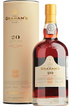 Graham's Tawny Port 20 years gift tube