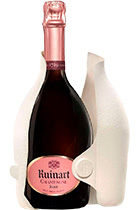 Ruinart Brut Rose gift box