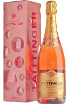 Taittinger Brut Prestige Rose gift box