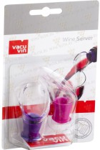 Vacu Vine Wine Server Crystal Pink/Purple