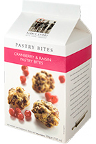 Cranberry and Raisin Pastry Bites