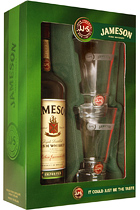 Jameson gift box + 2 glasses
